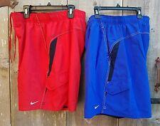 NIKE MEN'S Core Velocity Volley Shorts Swim Trunks TFSS0250