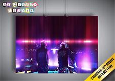 Poster DAFT PUNK MIX DJ PARTY Wall Art