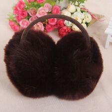 Women Faux Fur Winter Ear Warmer Earmuffs Ear Muffn Earflap Earcap 6 Colors