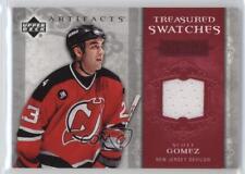 2006 Upper Deck Artifacts Treasured Swatches Red #TS-SG Scott Gomez Hockey Card