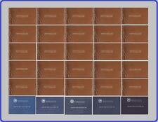 LIBRO LIBRETTO FRANCOBOLLI d' ITALIA dal 1957 al 1988 [ Inserzione Multipla]