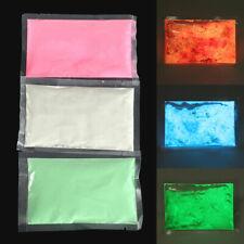 50g Fluoreszierend leuchtende pigment puder Luminous Powder Glow-in-the-Dark DIY