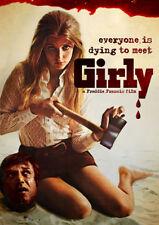 Freddie Francis Girly horror movie poster print
