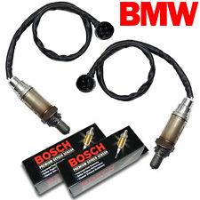 2PC BMW O2 Oxygen Sensor Set REAR/DOWNSTREAM Genuine Bosch OEM Plug E38/39 02