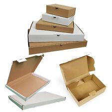 100 Stück Maxibrief Kartons Großbrief Kartons Versandkartons DIN A6 B6 A5 A4 B4