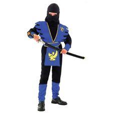 Ninja Assassin Boys Fancy Dress Halloween Costume S/M/L FREE UK P+P BOOK WEEK
