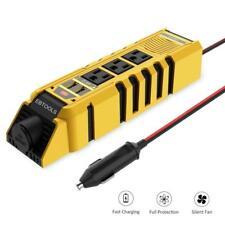 EBTOOLS Car Power Inverter, 150W Inverter 12V DC to 110V AC Converter with 3...