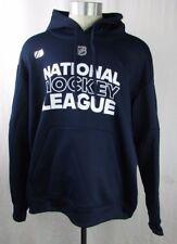 National Hockey League Men's Adidas Pull Over Hoodie NHL Navy  M L XL 2XL A12MLF