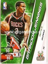 NBA ADRENALYN XL 2011-Brandon Jennings-Milwaukee