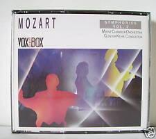 MOZART SINFONIA N 1/4/7A/7B/9/8/10  - 2 CD