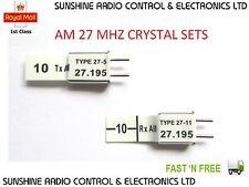Futaba Compatible Radio Control Remoto Rc Sets De Cristal Am 27 Mhz Hitech Traxxas