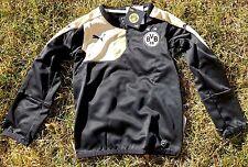 BORUSSIA DORTMUND Kinder/Kids Sweatshirt PUMA Größe 128-76 Langarm BVB 1909