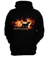 Sweatshirt BASSET FAUVE DE BRETAGNE FEUER UND FLAMME by Siviwonder Hoodie