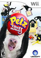 Nintendo Wii : Petz Crazy Monkeyz VideoGames