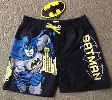 NEW Licensed DC Comics Batman Boys Board Shorts/Bathers/Trunks - Sizes 1-7