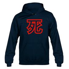 Death Japanese Kanji Symbol Hooded Sweater Hoody