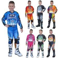 WULFSPORT ATTAQUE 2017 Petit Junior shirt PANT SUIT Tout-Terrain Motocross