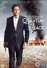 Quantum of Solace (DVD, 2009, 2-Disc Set, Box Set) James Bond Daniel Craig