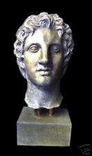 Greek warrior Alexander the Great bust statue stone sculpture home garden decor