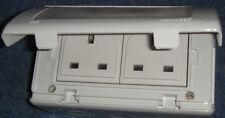 Nuevo Ip55 Hamilton Weatherproof Doble sockets 13AMP (más de 100)