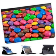 Candy Delight Chocolate Sweets Folio Leather Case For iPad Mini & Retina