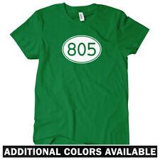 Area Code 805 Women's T-shirt S-2X - Oxnard Santa Maria Barbara Simi Valley Cali