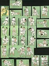 Série  étiquettes  Allumettes Japon Judo