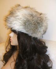 NEW Look Blonde soffice pelliccia sintetica Cosacco Russo ESCHIMESE Ski  Diva Stile Cappello Nuovo Con Etichetta d0568244764b