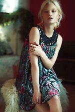 Anthropologie Linnea Velvet Dress in SP $228 Moulinette Souers