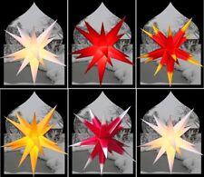 55 60 65 75 3D Faltstern Außenstern außen Weihnachtsstern Adventsstern PA