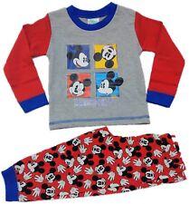 5743c6ef04a9f Officiel Mickey Mouse Pyjama Pyjama Pyjama garçons tout-petits enfants 9-24  mois