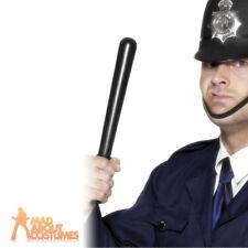 Police Truncheon Squeaking Baton Cops & Robbers Fancy Dress Costume Accessory