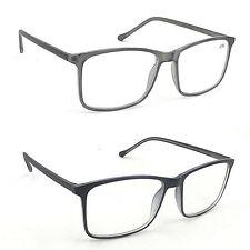 NEW DESIGN 2017 Designer Reading Glasses in Grey or Black+1.0+1.5+2.0 TN83