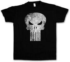 VIGILANTE SKULL I T-SHIRT - Frank Garth Ennis Dillon The Punisher Castle T Shirt