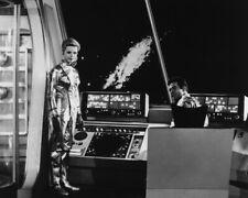 Lost in Space Marta Kristen Mark Goddard on Jupiter 2 Flight Deck Photo