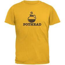 Pothead Gold Adult T-Shirt