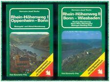 Rhein - Höhenweg I + II Oppenheim - Bonn - Wiesbaden Hermann Hucke