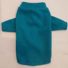 Teal Blue Knit Long Sleeve Shirt Dog Puppy Pet Clothes XXXS - Large