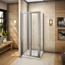 Mamparas de ducha diferentes tamaños plegable pantalla baño de vidrio