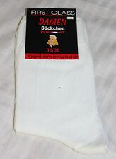 Strümpfe Socken Schwesternsocken Damen Söckchen 5er Pack Arbeitssocken weiss
