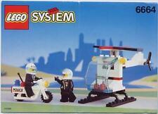 Notice Building instruction booklet  LEGO police 6664
