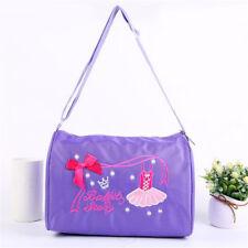 Girls Cute Embroidered Shoulder Bag Dance Swim Tote Bag 8C
