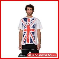 Berik T Shirt Flag Inghilterra UK Bandiera inglese Occhini Moto Moda Fashion