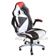 Poltrona sedia per ufficio presidenziale studio da x pc scrivania gaming racing