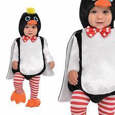 Baby Pinguino Zoo Animale Bird Carino Bambini Bambine Bambini Libro Settimana Costume