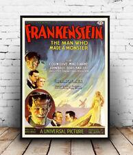Frankenstein: Vintage Cinema Pubblicità poster riproduzione