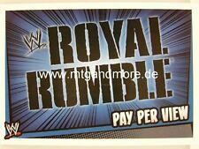 Slam Attax Rumble-Royal Rumble-Pay Per View