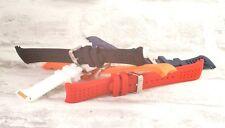 GOMMA in Silicone Curvo Cinturino strumento gratuito Pins & #2