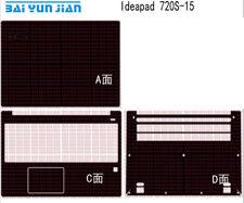 Laptop Protector Carbon fiber Sticker Cover for Lenovo Ideapad 720S-15 15.6-inch