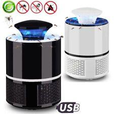 5W LED Elektrische Moskito Killer Lampe Fliegen Bug Insekt Zapper Trap Licht USB